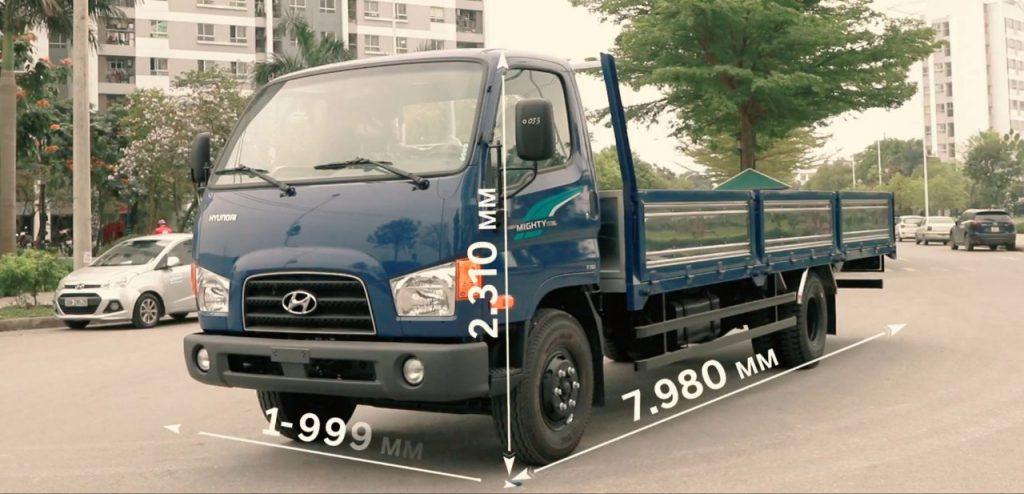 nội thất xe hyundai 110XL