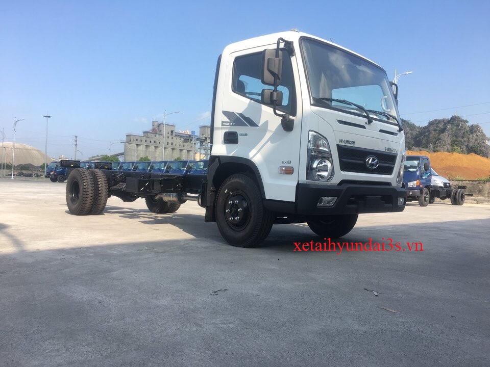 Giá Xe tải 7 tấn hyundai