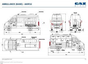xe gaz cứu thương nhập khẩu Nga